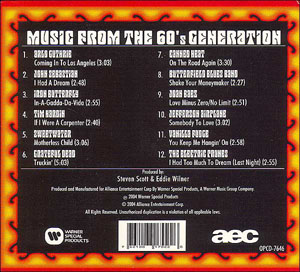 Hippie CD Back